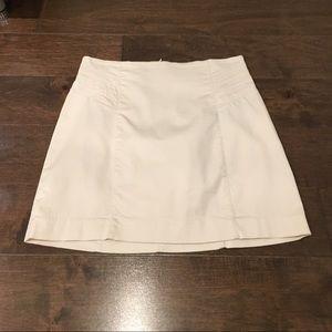 Zara Dresses & Skirts - Zara light beige A-line skirt