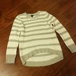 Knitted winter sweater