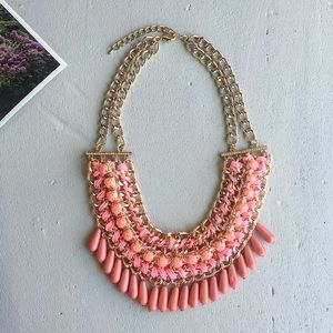 Coral handmade necklace