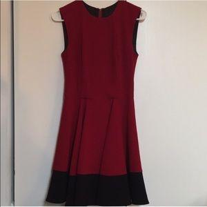 Sugarlips Dresses & Skirts - Sugarlips red & black colorblock dress