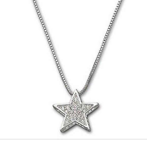 77 off swarovski jewelry sale swarovski star shaped necklace sale swarovski star shaped necklace so pretty mozeypictures Image collections