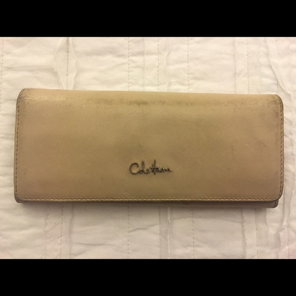 efab2dd0ba8 Cole Haan Bags | Beige Leather Wallet Womens | Poshmark