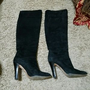 Brian Atwood Shoes - Brian Atwood black real leather boots