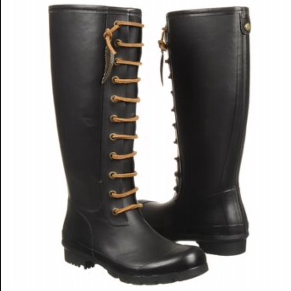 68% off Lucky Brand Shoes - Lucky Brand Rain Boots Size 8 from ...