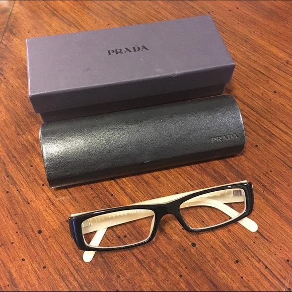 51535f90b3 Prada reader glasses. M 56f8a5a05c12f8ae3c08f4d0
