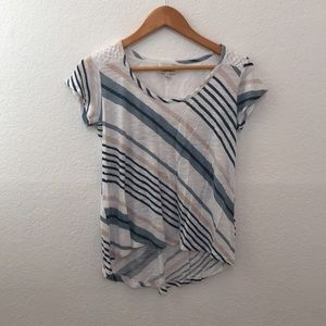 Anthropologie stripe tee