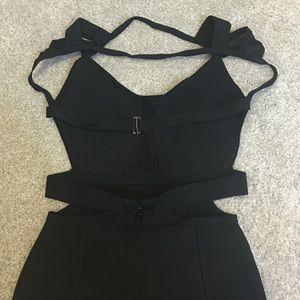 2a95b5db4 Dresses - Black Cut Out Peep Hole Bandage Dress - Brand new!