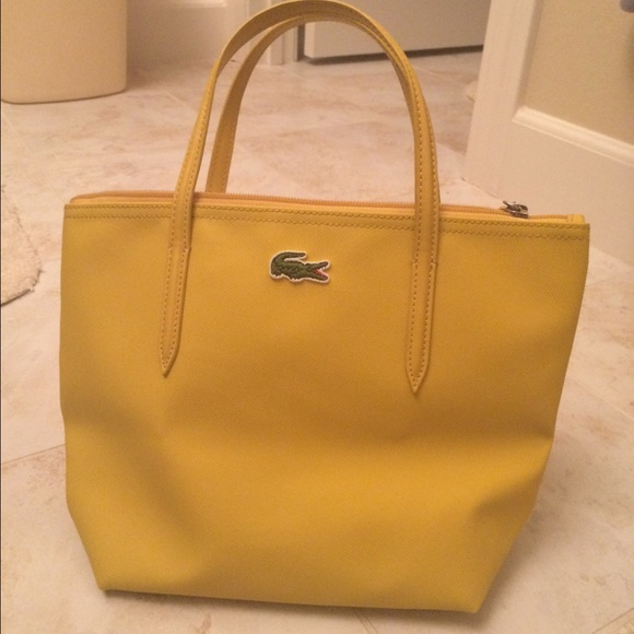 d27575d5c3 Lacoste Bags | New Without Tags Yellow Purse | Poshmark