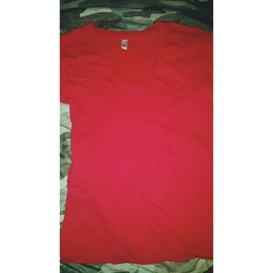 American Apparel V-neck tee