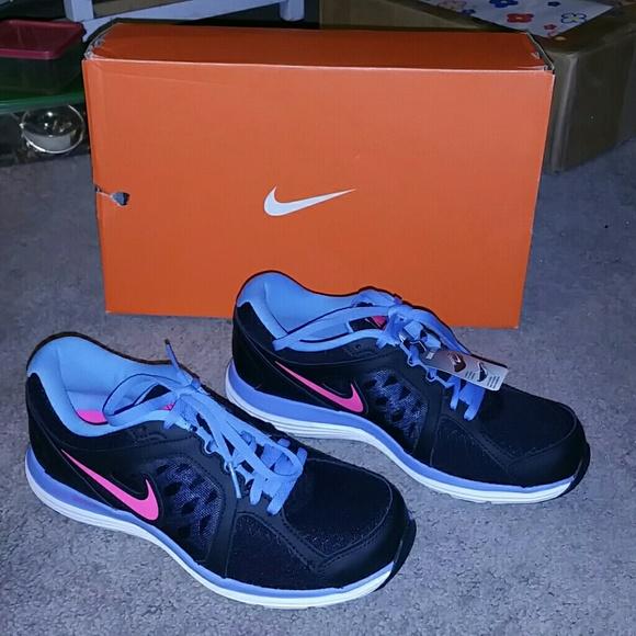 best loved 5a25b b9125 Nike black pink blue dual fusion ST 3 sz 7