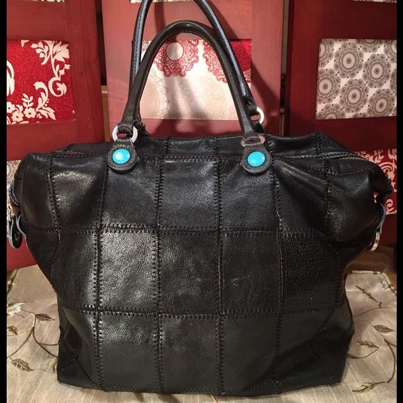 GABS Handbags - GABS Black Leather Handbag NWOT 395d5832bfd26