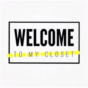 WELCOME TO MY CLOSET‼️‼️