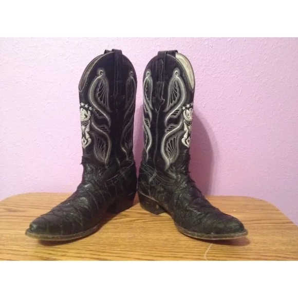 069b799202c Men's El General Cowboy Boots made Mexico Size 9 D