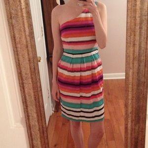 LAST CHANCE London Times Striped Cotton Dress