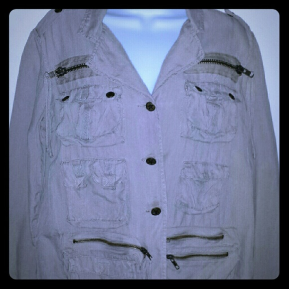 365cfb38b9e7 Da-Nang Jackets   Blazers - Silk Da - Nang Surplus Indochine Jacket in Beige
