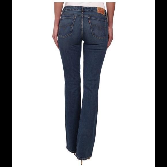 Classic rise demi curve boot cut jeans