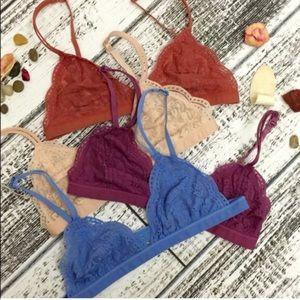 FRANCESCA delicate bralette -8 colors