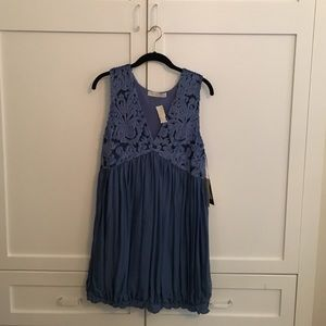 Stella McCartney NWT blue silk dress