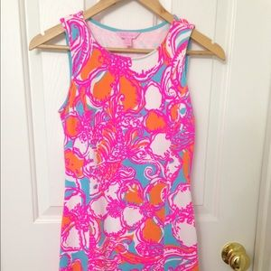 e1423d2393f735 Lilly Pulitzer Dresses - Lilly Pulitzer Feeling Tanked Whiting Shift Dress