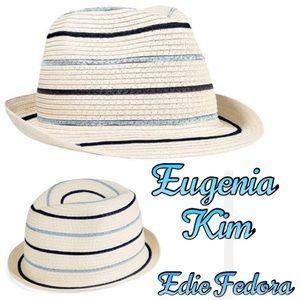 Eugenia Kim Accessories - 🆕EUGENIA KIM - EDIE STRIPPED FEDORA