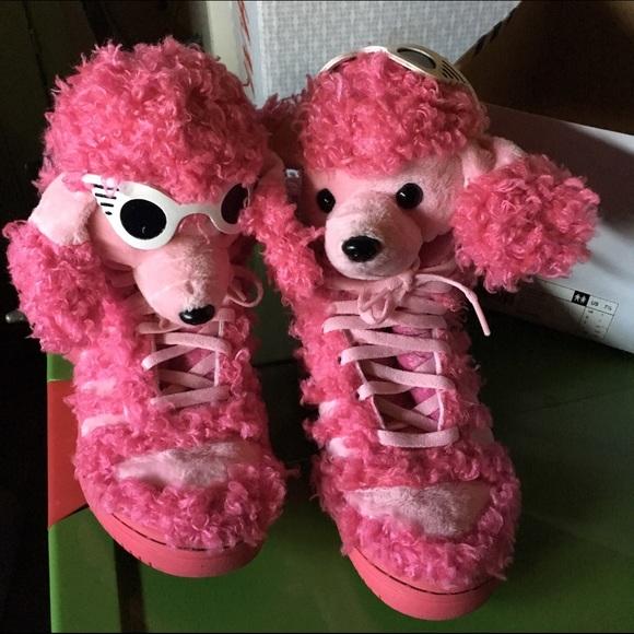 Adidas Jeremy Scott Pink Dog shoes