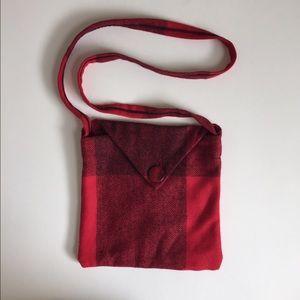 Handbags - Small, red, plaid purse