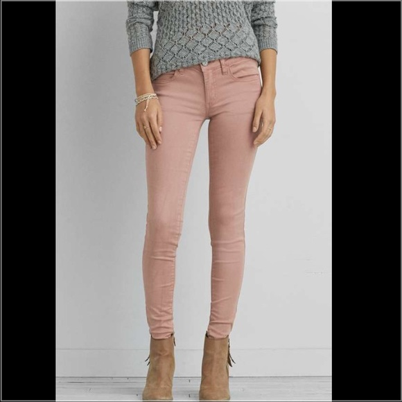 81% off American Eagle Outfitters Denim - American Eagle blush ...