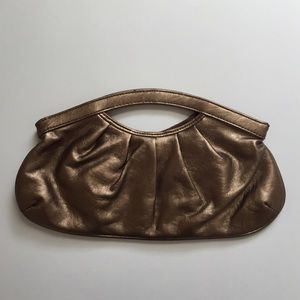 Handbags - Small gold clutch