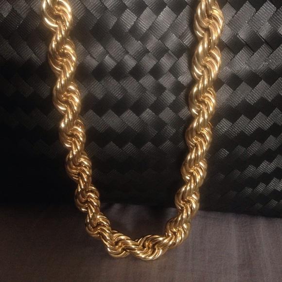 80 s Fat Rope Chain. M 56f97368680278e53209ea79 57e9cb771438