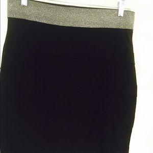 Dresses & Skirts - Black elastic waistband skirt. FINAL CLEARANCE