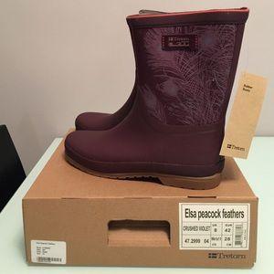 Tretorn Shoes - Tretorn Elsa Peacock Rainboot