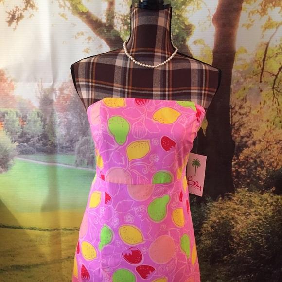 Lilly Pulitzer Dresses & Skirts - NWT Lilly Pulitzer Sabrina Dress Hibiscus Sz 6
