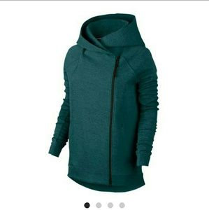 Women's nike hooded and cape jacket