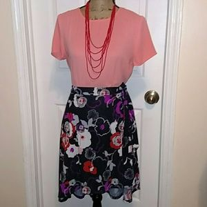 Funky, high low, wrap skirt