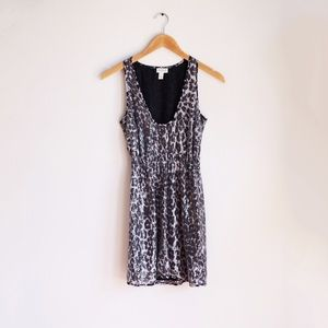 Rodarte x Target sequin print dress XS