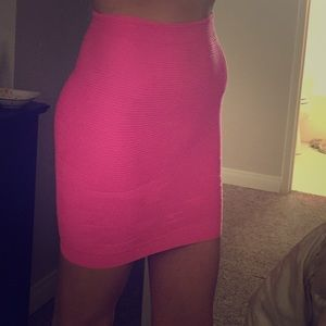 Clearance Hot pink pencil skirt