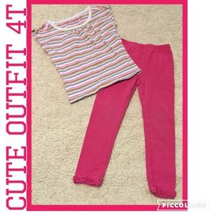 Other - Cute toddler outfit 4T
