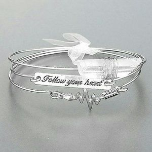 Follow Your Heart Bangles