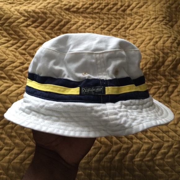 130942a56a9 Polo by Ralph Lauren Reversible Bucket Hat. M 56f992b4f739bcc8cb001f0b
