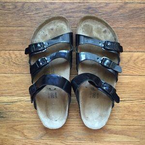 Black Birki's by Birkenstock sandal