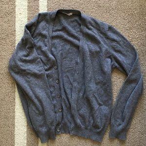 Gran Sasso Sweaters - Cashmere blend Boyfriend Style Cardigan