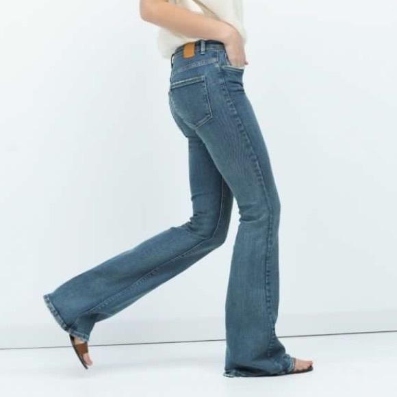 c9f0a3bb Zara 'The Dreamer' Skinny Flare Jeans. M_56f998e6f0137d1e92002a5a