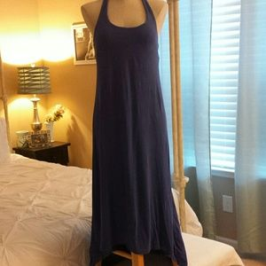 ROXY Purple high/low maxi dress