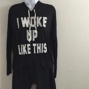 "Four Girlz  Tops - ""I Woke Up Like This"" t-shirt"