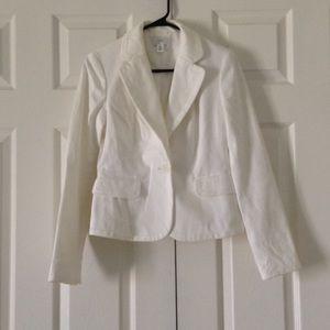 Loft White jacket blazer