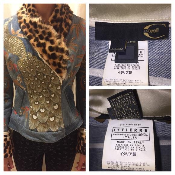 b0f454d78e72f Roberto Cavalli Jackets & Coats | Just Cavalli Jeans Jacket | Poshmark