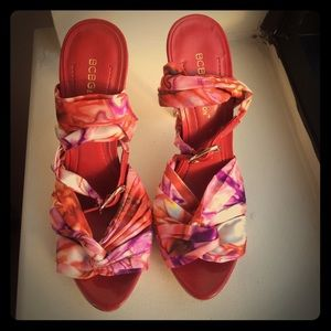 BCBGeneration NWOT ANKLE STRIP SANDALS 🌺🌷
