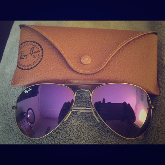 1712fecb816 Ray-Ban Aviator Violet Flash Lenses. M 56f9a7e899086ae41e0043ae. Other  Accessories ...