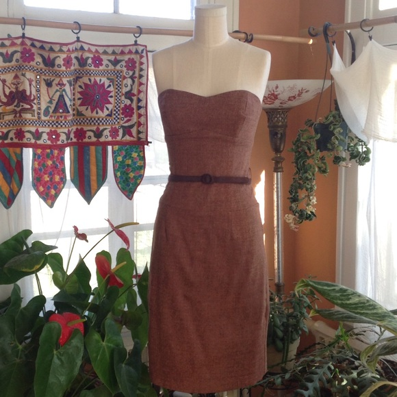 Anthropologie Dresses   Tailored Strapless