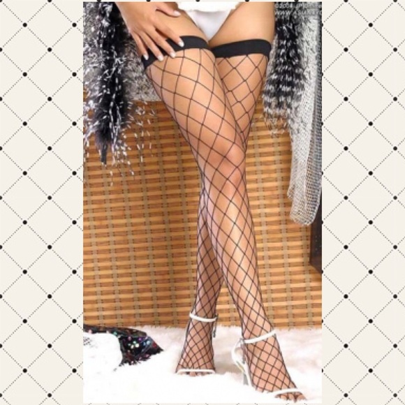 bf900aa8477da Accessories | Sexy Fence Net Thighhighs Nwts | Poshmark